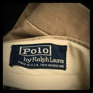 Polo Khaki Slacks (Pre-Loved) Excellent condition